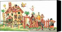 Lanscape Canvas Prints - Lazinessland04 Canvas Print by Kestutis Kasparavicius