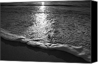 Beach Photograph Photo Canvas Prints - Leading Edge II Canvas Print by Steven Ainsworth