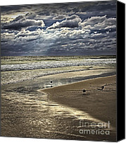 Isaac Canvas Prints - Leading Edge of Hurricane Isaac 4 Canvas Print by Walt Foegelle