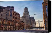 City Hall Canvas Prints - Lease It Canvas Print by Chuck Alaimo