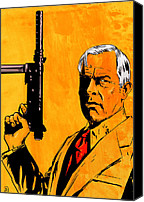Prime Canvas Prints - Lee Marvin Canvas Print by Giuseppe Cristiano