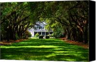 House Canvas Prints - Legare Waring House Charleston SC Canvas Print by Susanne Van Hulst