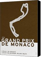 Symbolism Canvas Prints - Legendary Races - 1929 Grand Prix de Monaco Canvas Print by Chungkong Art