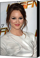 Nokia Theatre Canvas Prints - Leighton Meester In Attendance For Kiis Canvas Print by Everett