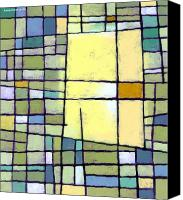 Abstract Canvas Prints - Lemon Squeeze Canvas Print by Douglas Simonson