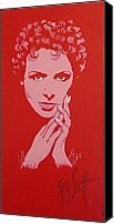 Greg Scott Canvas Prints - Lena Horne  Canvas Print by Greg Scott