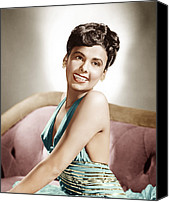 1940s Portraits Canvas Prints - Lena Horne, Mgm Portrait, Ca. 1940s Canvas Print by Everett