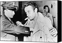 Censorship Canvas Prints - Lenny Bruce 1925-1966, Being Searched Canvas Print by Everett