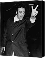 Censorship Canvas Prints - Lenny Bruce 1925-1966 Social Critic Canvas Print by Everett