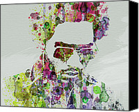 R Canvas Prints - Lenny Kravitz 2 Canvas Print by Irina  March
