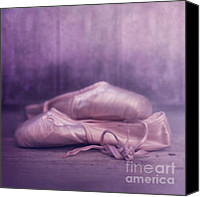Dancer Canvas Prints - Les chaussures de la danseue Canvas Print by Priska Wettstein