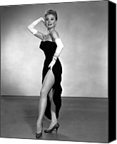 Opera Gloves Canvas Prints - Les Girls, Mitzi Gaynor, 1957 Canvas Print by Everett