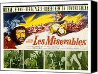 Fid Photo Canvas Prints - Les Miserables, Michael Rennie, Debra Canvas Print by Everett
