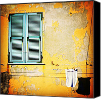 Street Canvas Prints - Let It All Hang Out #italy #wall Canvas Print by A Rey