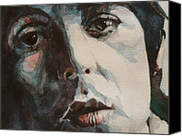Mccartney Canvas Prints - Let Me Roll It Canvas Print by Paul Lovering