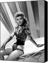 1957 Movies Canvas Prints - Lets Be Happy, Vera-ellen, 1957 Canvas Print by Everett
