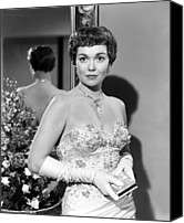 Opera Gloves Photo Canvas Prints - Lets Do It Again, Jane Wyman, 1953 Canvas Print by Everett