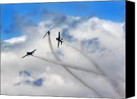 Extra 300 Canvas Prints - Lets Play In The Clouds Canvas Print by Angel  Tarantella
