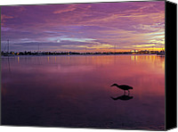 Scenic Digital Art Canvas Prints - Life after Sunset Canvas Print by Melanie Viola