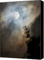 Moonscape Canvas Prints - Life Force Canvas Print by Steven Poulton