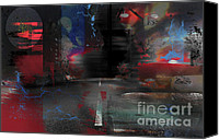 Arts Edge Canvas Prints - LIfes Unexpected Roads Canvas Print by Christine Mayfield
