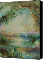 Mary Wolf Canvas Prints - Light after the Storm Canvas Print by Mary Wolf