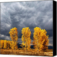 Storm Canvas Prints - Light And Darkness Canvas Print by Evgeni Dinev