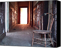 Hall Way Canvas Prints - Light at the End  Canvas Print by Tam Ishmael - Eizman