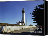 Digital Canvas Prints - Light House  Canvas Print by The Kepharts