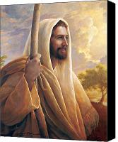Smile Canvas Prints - Light of the World Canvas Print by Greg Olsen