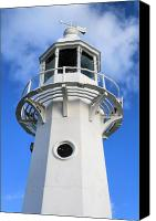 Kernow Canvas Prints - Lighthouse Canvas Print by Carl Whitfield