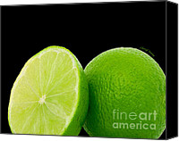 Limes Canvas Prints - Limes Canvas Print by Cheryl Young
