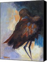 Susan Hanlon Canvas Prints - Limpkin Canvas Print by Susan Hanlon
