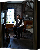 Assassination Canvas Prints - Lincoln in the Attic 2 Canvas Print by Ray Downing