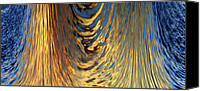 Gleam Canvas Prints - Liquid Gold Canvas Print by Skip Nall