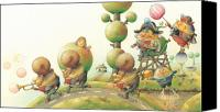Lanscape Canvas Prints - Lisas Journey05 Canvas Print by Kestutis Kasparavicius