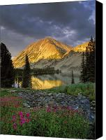 Mountains Canvas Prints - Little Lake Canvas Print by Leland Howard