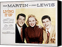 Fid Canvas Prints - Living It Up, Dean Martin, Janet Leigh Canvas Print by Everett