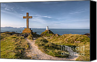 R Canvas Prints - Llanddwyn Island Canvas Print by Adrian Evans