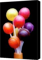 Sweet Art Canvas Prints - Lollipop Bouquet Canvas Print by Tom Mc Nemar