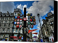 Coat Of Arms Canvas Prints - London 036 Canvas Print by Lance Vaughn
