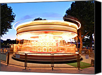 Merry-go-round Canvas Prints - London 110 Canvas Print by Lance Vaughn