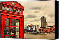 Co Canvas Prints - London calling Canvas Print by Jasna Buncic
