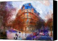 Marilyn Sholin Canvas Prints - London Central Canvas Print by Marilyn Sholin