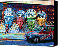 Beatles Canvas Prints - London street Canvas Print by Jasna Buncic