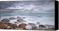 Long Canvas Prints - Long Exposure To Rockscape Canvas Print by  Yannick Lefevre - Photography