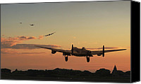 Raf Canvas Prints - Long Night Ahead Canvas Print by Pat Speirs