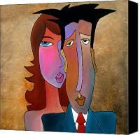 Picasso Painting Canvas Prints - Long Night Canvas Print by Tom Fedro - Fidostudio