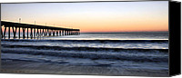 Topsail Island Canvas Prints - Long View Canvas Print by JC Findley