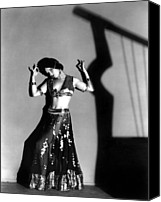 Publicity Shot Canvas Prints - Louise Brooks As A Denishawn Dancer Canvas Print by Everett